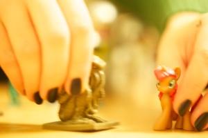 Cthulhu card game figurine v. blind bag Pony