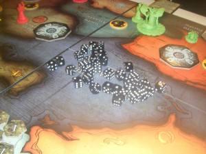 So many dice.