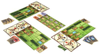 Laid out in all its glory. image courtesy of boardgaming.com