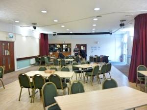 The room preparing for Gavcon